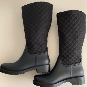 Andrea Quilted Rainboot